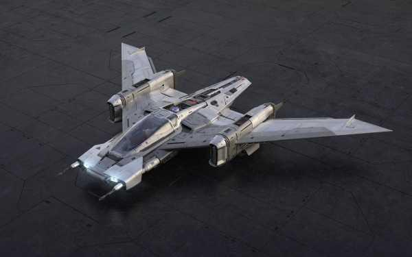 Penampakan Pesawat Star Wars Buatan Porsche