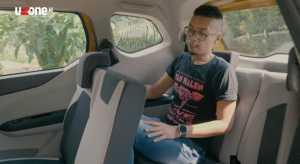 Bahkan, meski mobil ini gak sampai 4 meter, tapi tetap nyaman didudukin sampai kursi baris ketiga (Bagja - Uzone.id)