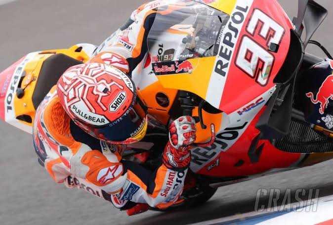 MotoGP Spanyol: Marquez Juara MotoGP, Pebalap Indonesia Terlindas Motor di Moto2