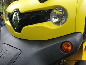 Renault Twizy, mobil listrik nyentrik dari Renault (Uzone.id - Bagja)