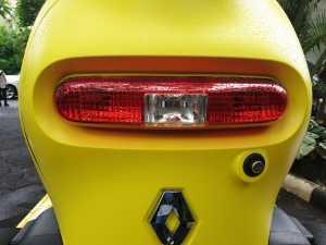 Ni lampu kombinasi di belakang, desainnya kayak kapsul (Uzone.id - Bagja)