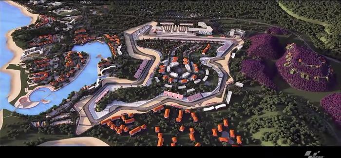 MotogGP Pamerkan Sirkuit Mandlika Lombok Dalam Video 3D
