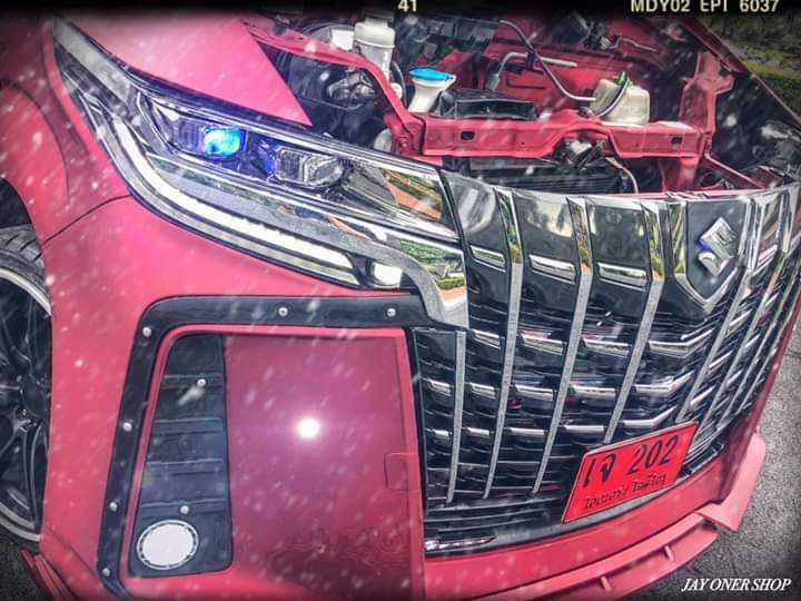 FOTO: Modifikasi Suzuki Carry Rasa Alphard