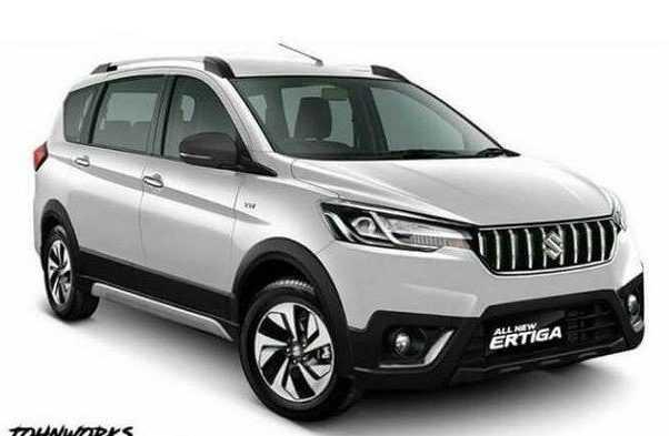 Suzuki Luncurkan Ertiga Crossover Agustus 2019?