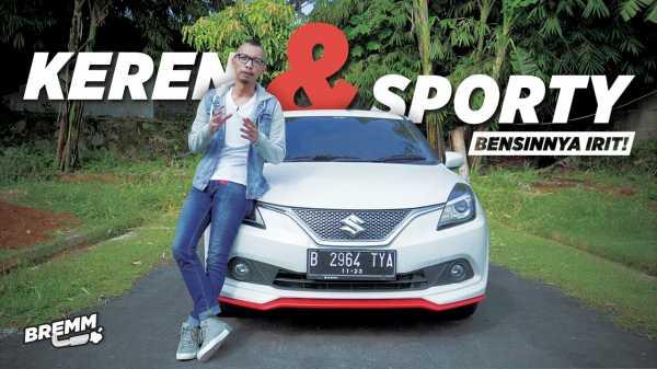 VIDEO Test Drive Suzuki Baleno Sport, Paling Enak Buat Harian?