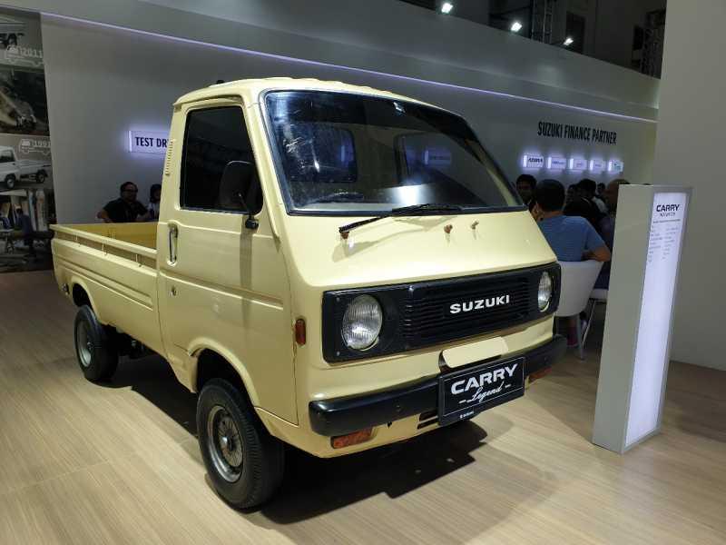 IIMS 2019: Suzuki ST20 1981, Si Legend Penuh Cerita dari Garut
