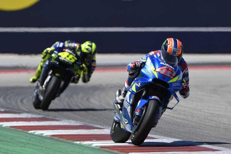 Setelah Puasa 3 Tahun, Akhirnya Suzuki Podium 1 MotoGP Amerika