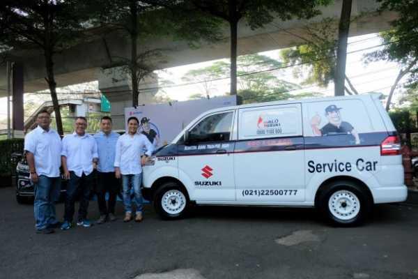 Ratusan Mobil Towing Suzuki untuk Temani Mudik