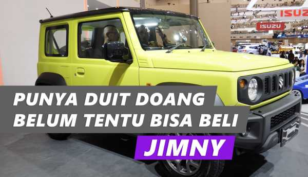 VIDEO: Ngobrol Soal Jimny Bareng Direktur Marketing Suzuki Indonesia