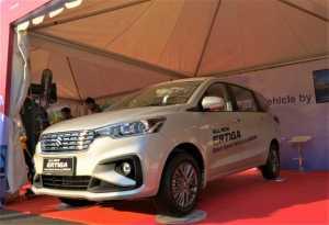 Suzuki Pajang All New Ertiga Hybrid, Mau Dijual Lagi?