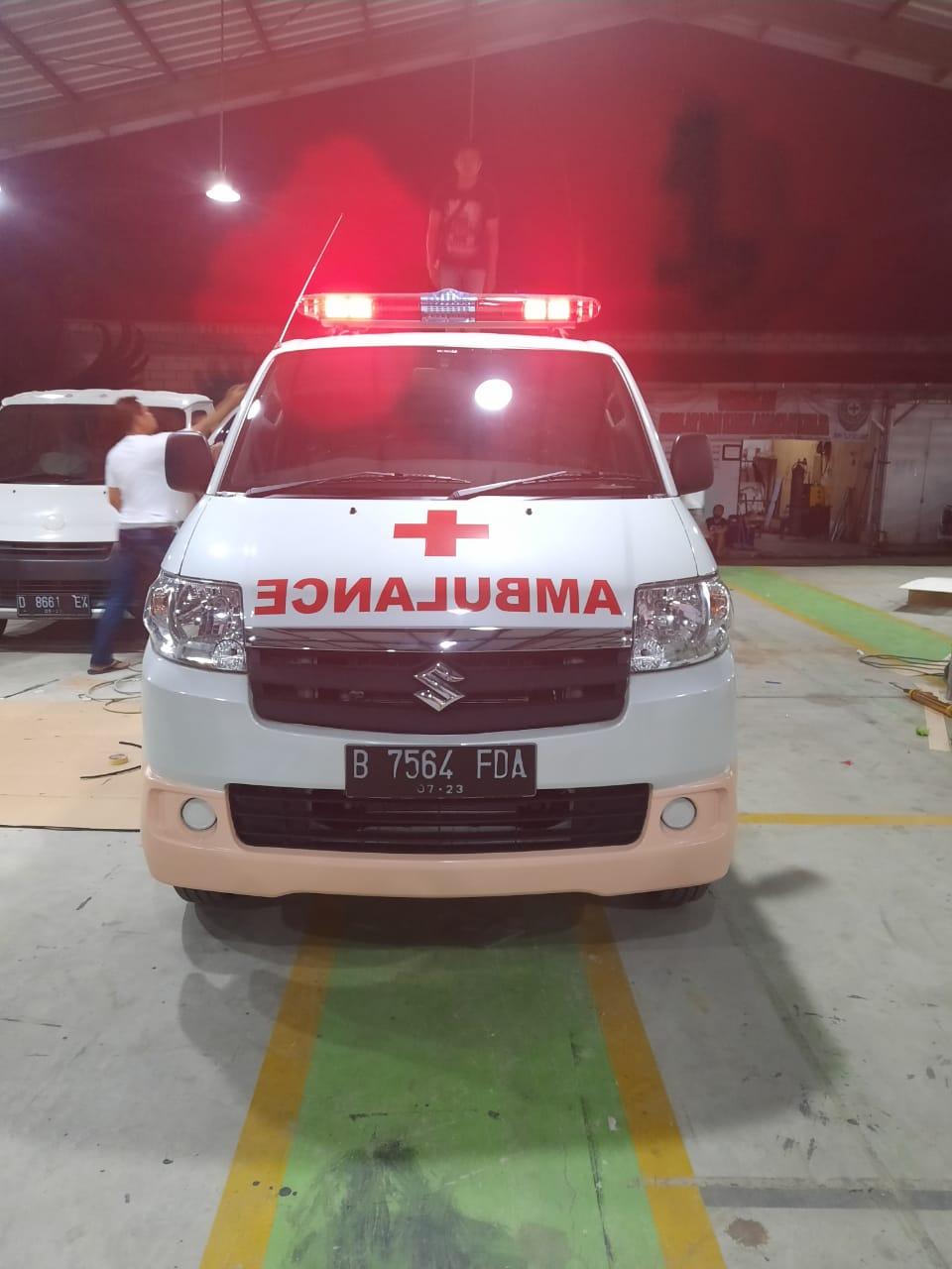 Suzuki APV Laris Manis Ditengah Pandemi, Ternyata Cocok Buat Ambulan