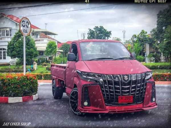 Sangarnya Suzuki Carry Rasa Alphard, Keren Gak Sih?