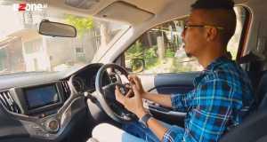 Secara handling dan ergonomis, cukup fun to drive (Bagja - Uzone.id)