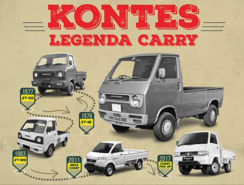 Dicari! Suzuki Carry Lawas buat Ikutan Kontes