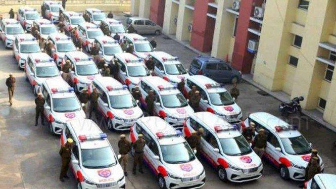 Nehi Nehi Aca Aca, Suzuki Ertiga jadi Mobil Polisi di India