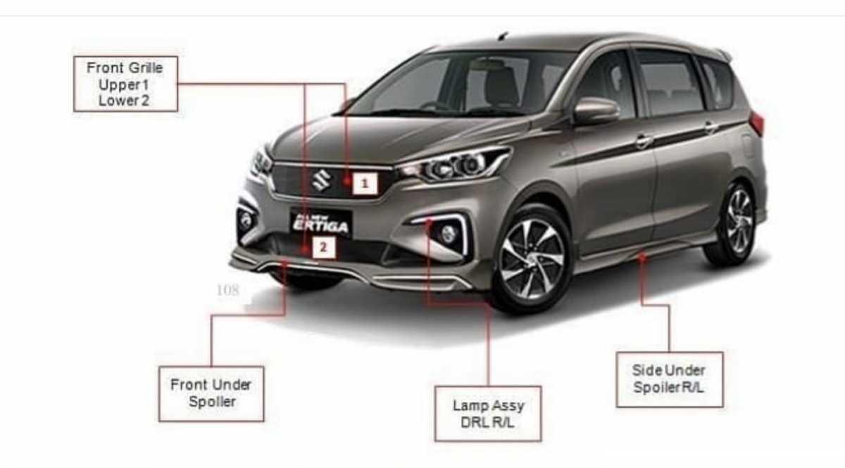 Suzuki Ertiga Sport jadi Tipe Tertinggi dan Termahal, Ini Detail Ubahannya!