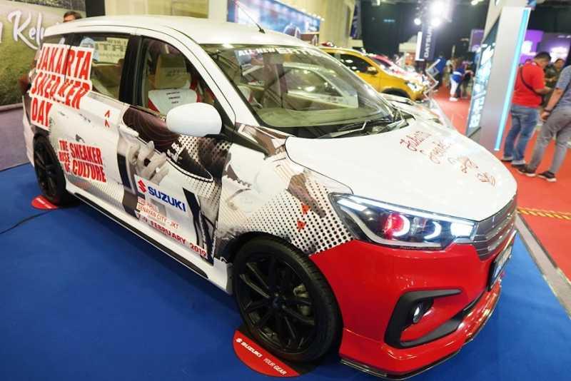 Referensi Modifikasi All New Ertiga, Terinspirasi Sneakers