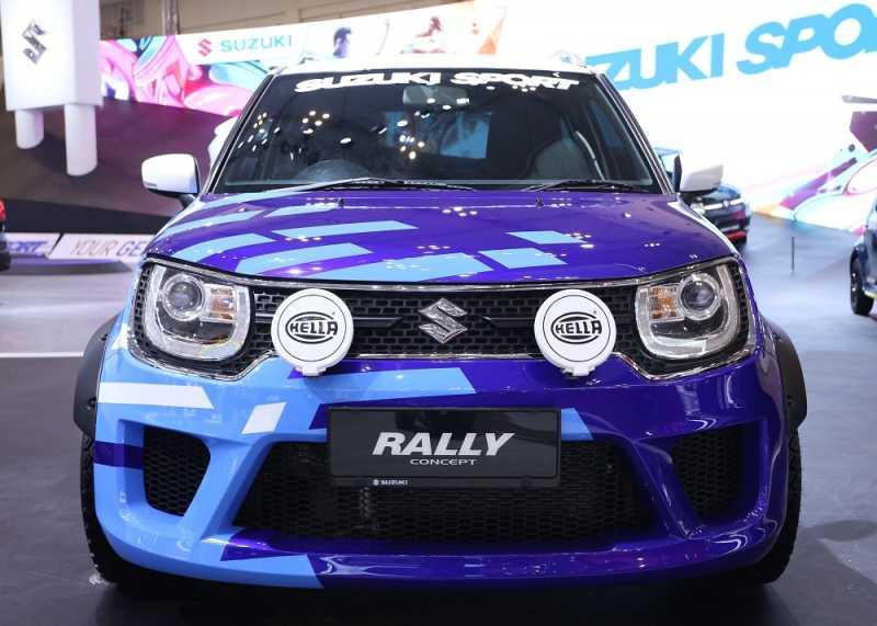 GIIAS 2018: Suzuki Ignis Rally Concept, Manly Banget!