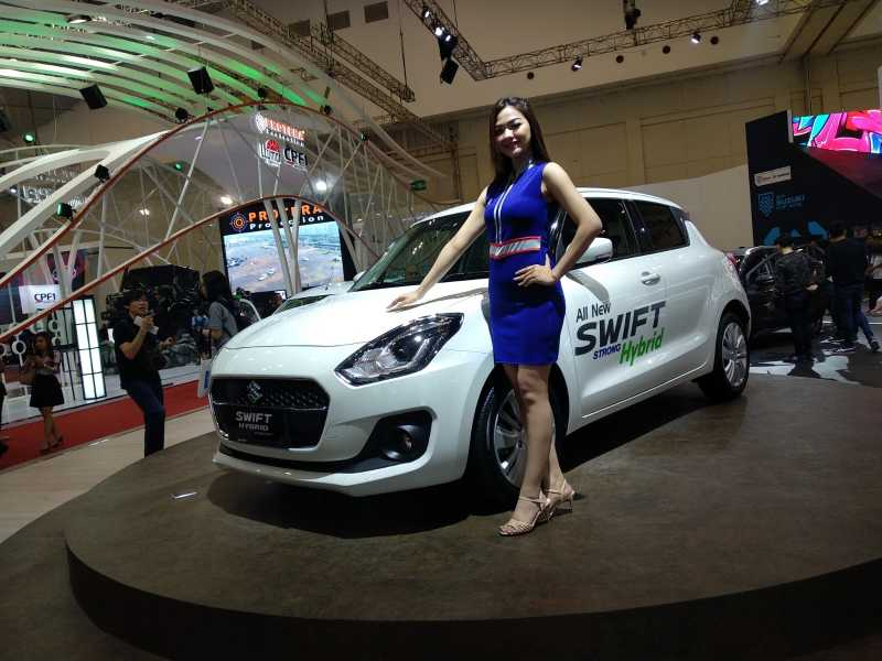 GIIAS 2018: All New Swift Strong Hybrid, Paling Realistis Dijual