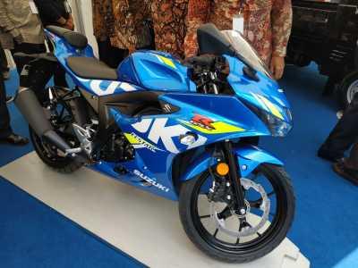 Penampakan Suzuki GSXR untuk Ekspor Pakai Mesin 125cc
