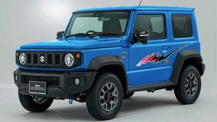 Pilihan Stiker Bodi Suzuki Jimny, Sukses Tampil Retro
