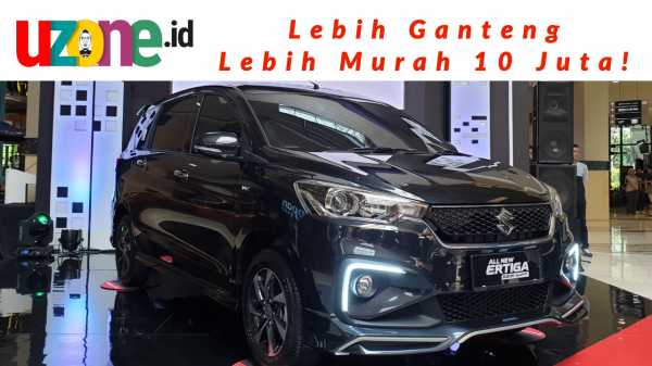 Tonton Video Review All New Ertiga Sport, Senjata Pamungkas Suzuki?