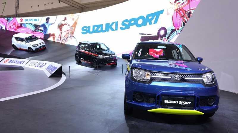 GIIAS 2018: Tahta Raja Citycar Suzuki Ignis Diancam All New Brio