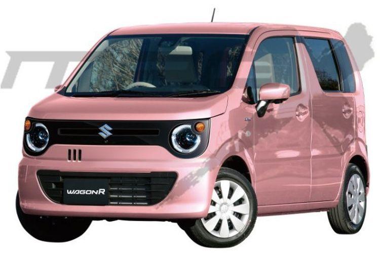 Bocoran Tampilan Suzuki Wagon R Smile, Begini Baru Keren!