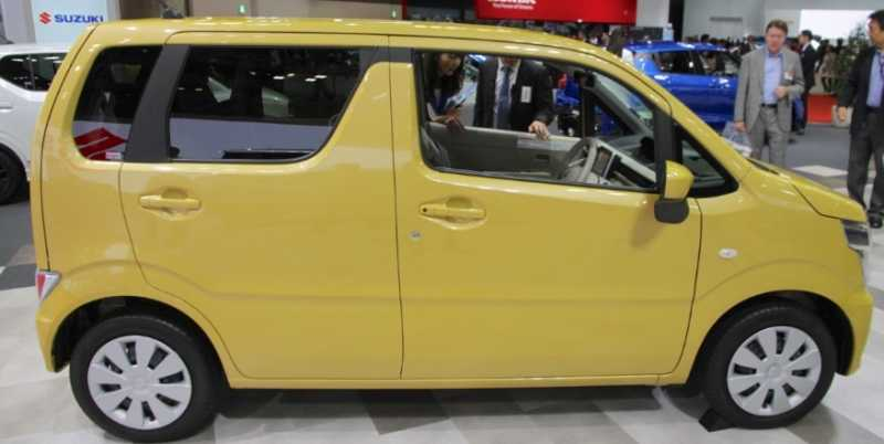 Bodi Samping Suzuki Wagon R Terbaru Mirip Alphard
