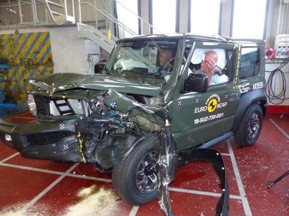 Suzuki Jimmy, Calon Mobil Terbaik Dunia yang Uji Tabraknya Kurang Memuaskan