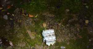 Sel baterai sampai terbang ke rumah dan menyebabkan kebakaran. (Foto: Departemen Kepolisian Kota Corvallis)