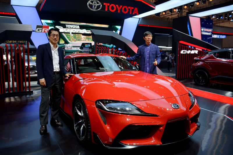 VIDEO Review Toyota Supra, Sang Legenda Kembarannya BMW Z4