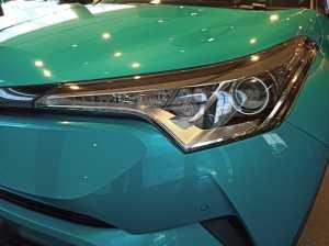 Fierce Bi-beam LED headlamp with auto leveling