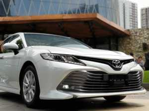 Wajah baru dari Toyota Camry, makin agresif (Bagja - Uzone.id)