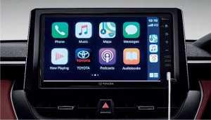 Pakai Apple CarPlay dan Android Auto.
