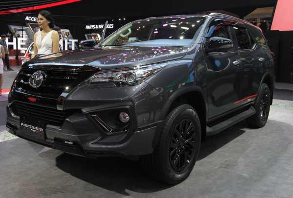GIIAS 2019: Toyota Luncurkan Fortuner TRD Sportivo Facelift