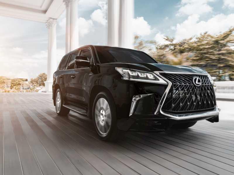 Lexus New LX 570 Sport, 'Mobil Kampanye Prabowo' Terbaru