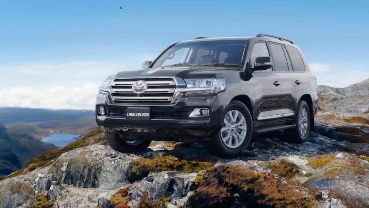 Spesifikasi Toyota Land Cruiser Jokowi, Digdaya Terabas Banjir Kalimantan