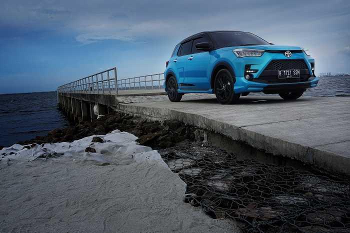 1.269 Unit Toyota Raize Terjual dalam Seminggu