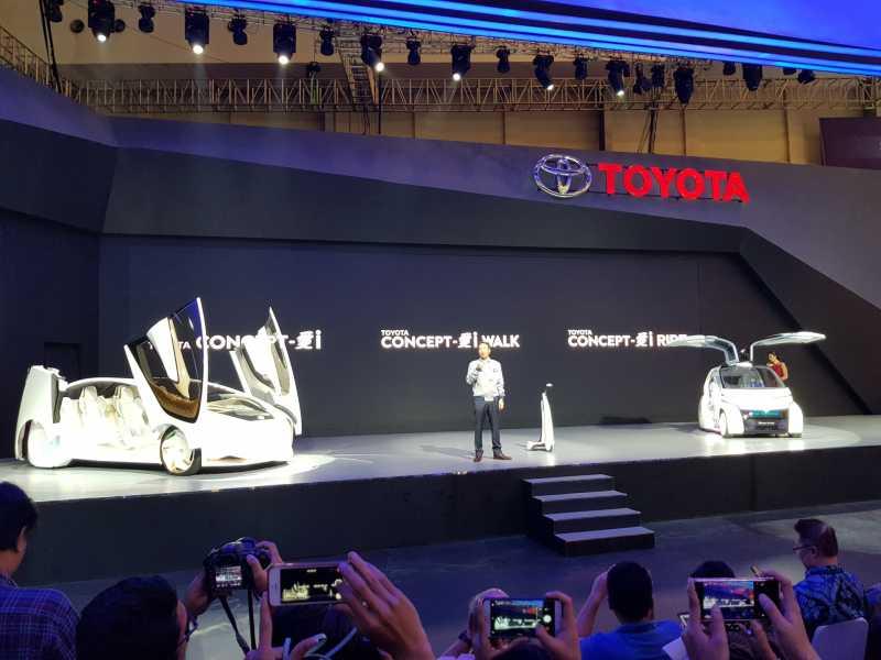 GIIAS 2018: Tiga Mobil Masa Depan Gusur Mobil Baru Toyota
