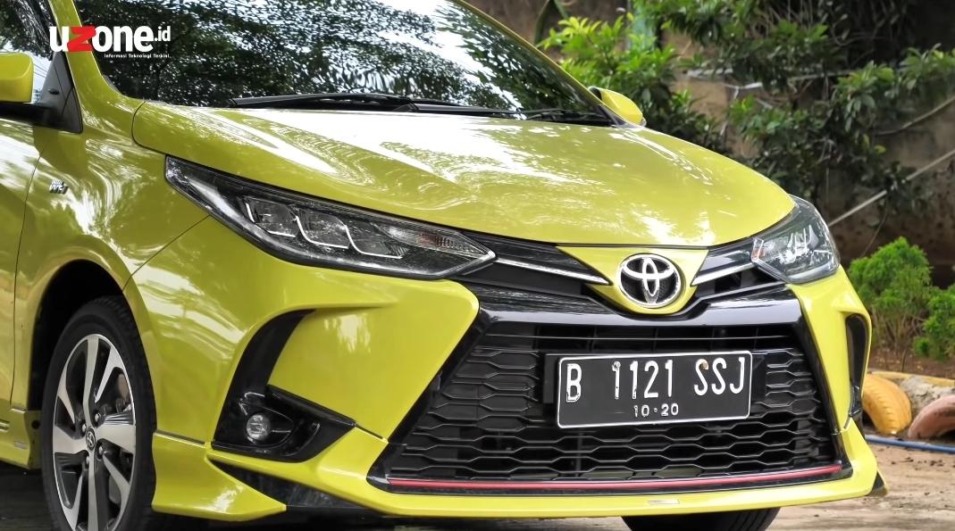 Test Drive Toyota Yaris Facelift, Tampang dan Handling Berubah