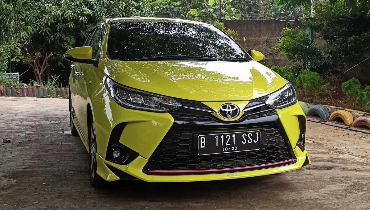 FOTO: Tampilan Toyota Yaris TRD Harga Rp300 Jutaan