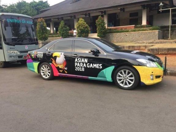 Ratusan Mobil Mewah Toyota, Sampai Mobil Hidrogen Siap Beraksi di Asian Games 2018
