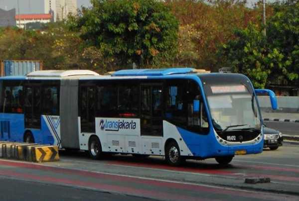 Lho, kok Bus Zhong Tong Layani TransJakarta Lagi?
