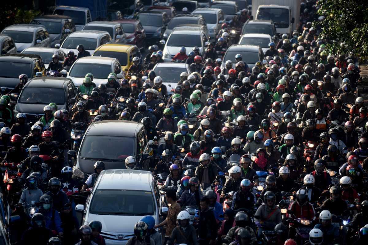 Jakarta Tidak Lagi Masuk 10 Kota Termacet di Dunia