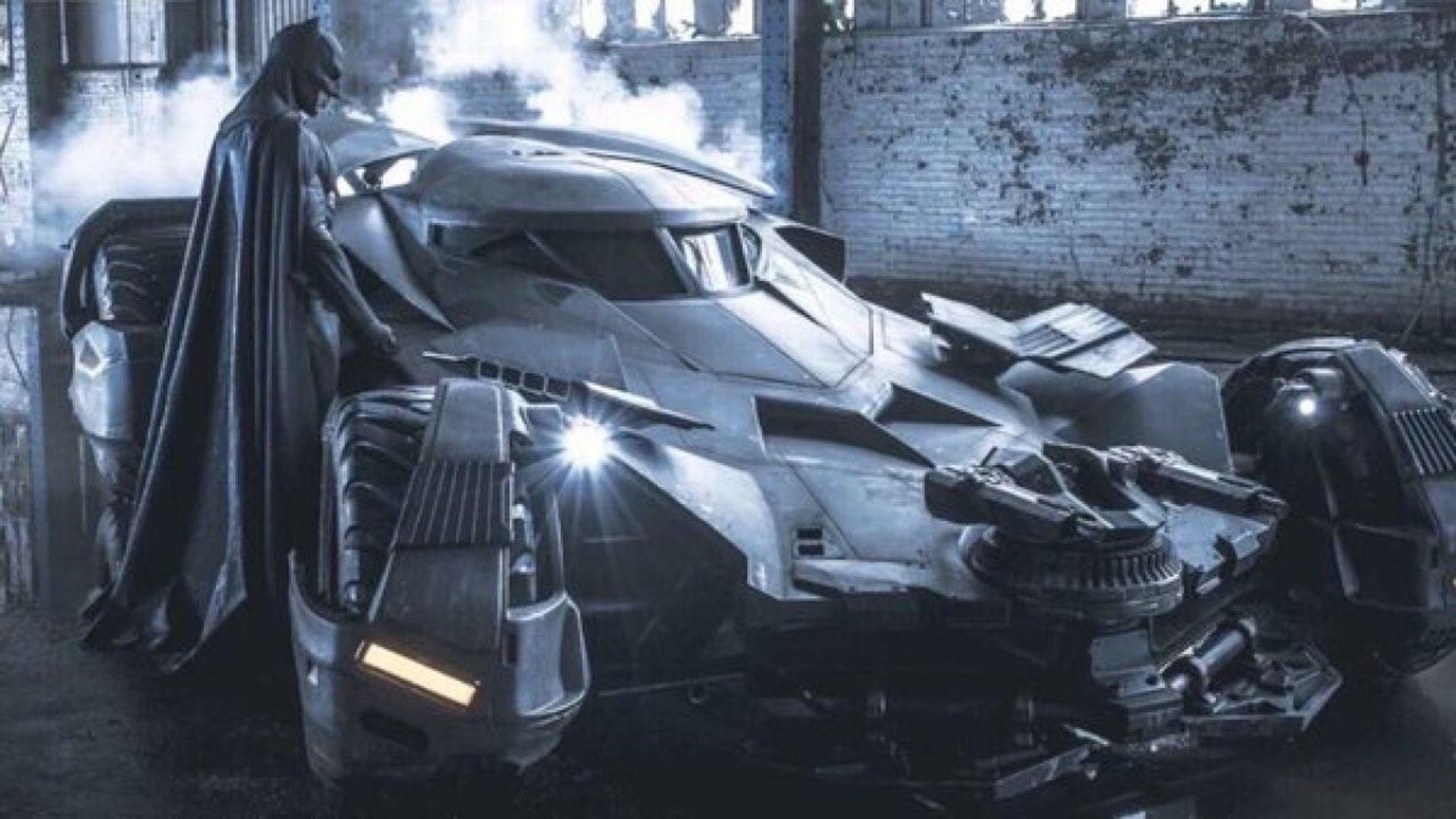 Dijual: Batmobile di Film 'Batman vs Superman', Berapa Harganya?