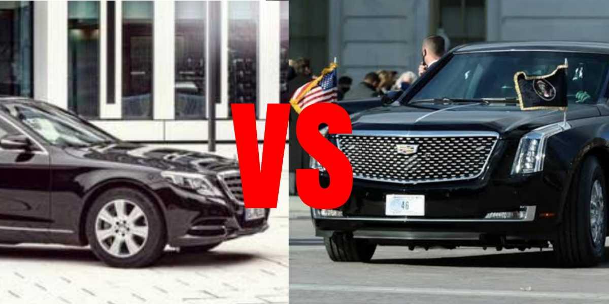 Adu Kuat Mobil Dinas Joe Biden vs Jokowi