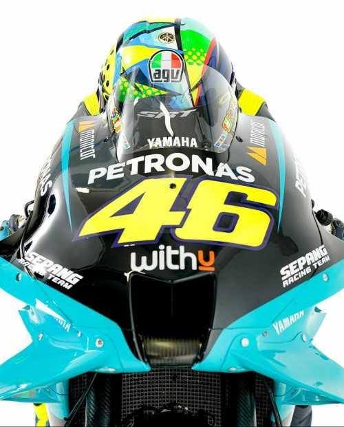 Tampilan dan Spek Motor motoGP Valentino Rossi 2021