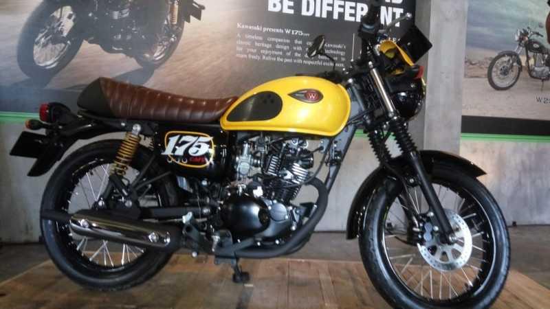 Foto Detail Motor Retro Jokowi Versi Baru Dari Kawasaki Uzone