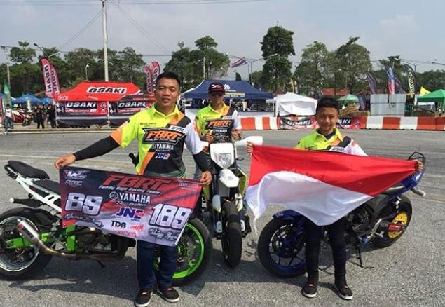 Indonesia Borong Juara Freestyle Motor di Thailand